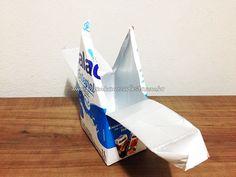 Passo 7 - Como fazer casinha de passarinho com caixa de leite Casket, Decoupage, Recycling, Scrap, Baby Shower, Bird, Disco Theme Parties, Teacher Party, Gift Crafts