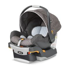 Keep your baby safe in style. #1 Rated Chicco KeyFit is the easiest car seat to install correctly. KeyFit 30 Infant Car Seat & Base - Lilla