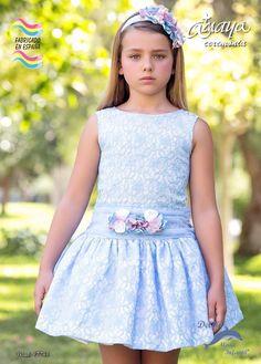 vestidos en blonda talle bajo para niñas - Buscar con Google