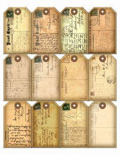 Sheet postkaartjes | Teksten & Spreuken | Nostalgie & Brocante
