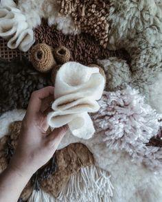 Crochet, felting, weaving, latch hook... I'm doing the happy dance right now!