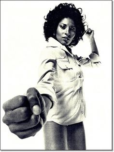 Pam Grier will punch your head!