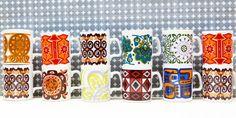 Staffordshire Pottery - Retro, Vintage China, Glassware, Kitchenalia, fabrics and books - yay retro!