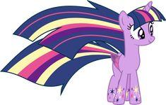 Twilight Sparkle - Rainbow Power by Elsia-pony on DeviantArt My Little Pony Twilight, My Little Pony 1, My Little Pony Drawing, Little Poney, My Little Pony Pictures, My Little Pony Friendship, Cute Pictures, Sparkle Image, My Little Pony Wallpaper
