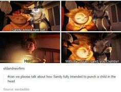 My favorite character ^~^ (Rise of the Guardians) Disney And Dreamworks, Disney Pixar, Disney Magic, Tumblr Funny, Funny Memes, Hilarious, Dc Movies, Great Movies, Disney Memes