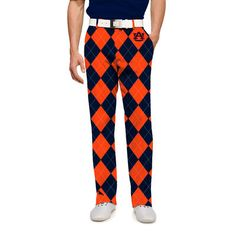 Men's Loudmouth Navy Auburn Tigers Pants
