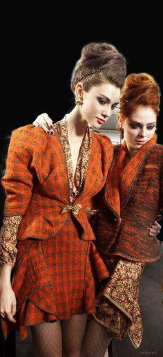 """Isn't that sad we had to kill the blonde! By Zac Posen Zac Posen, High Fashion, Winter Fashion, Womens Fashion, Orange Mode, Orange Fashion, Coral Fashion, Fashion Details, Fashion Design"