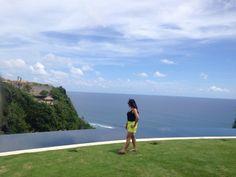 Loving this amazing view at Semara Villa Uluwatu Bali Indonesia