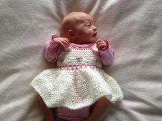 Crochet Rosemary's Rosie Top Newborn Summer Dress