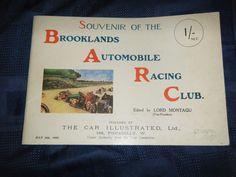 BROOKLANDS CLUB SOUVENIR OKURA C S ROLLS S F EDGE LORD LONSDALE H F LOCK KING Formula 1, Club, Ebay, Souvenir
