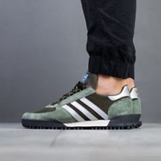 detailed look 994bb 093d3 Adidas MARATHON TR SHOE Base Green 7 8 9 10 11 12 Mens Shoes Sneakers New