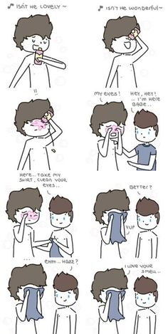 THIS IS SO CUTE I'M CRYING.