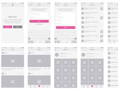 these high quality wireframe templates offer a good starting place for when you want to