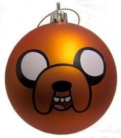 Adventure Time Christmas ball Ornament Jake