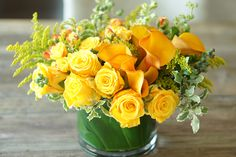 Happy Yellow Arrangement