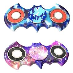 Spinner Injection Molded Bat Style Shaped Figit Finger Spinner Anti-stress EDC ADHD Toys Super Light Shell Material #Affiliate