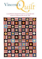 Vincent's Digital Quilt Pattern from ShopFonsandPorter.com