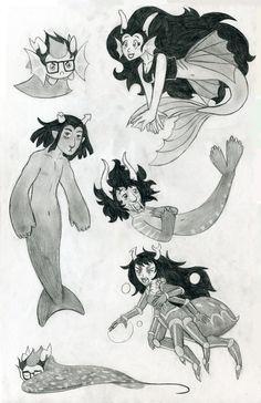 aquariumstuck animals by GoNeko on deviantART