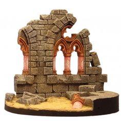 Ruines d' église Gothique