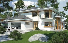 Wizualizacja HR Carmen Magdalena lux CE 5 Bed House, Subaru Forester, Designer, Architecture Design, Mansions, House Styles, Interior, Home Decor, Homes