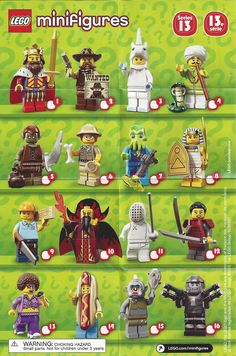 Lego Minifigure Series 14 Bump Codes Hnet Inc
