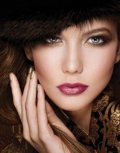 Love the nail polish and eye makeup