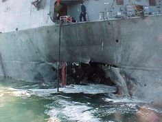 The Navy marks the 15th anniversary of the USS Cole bombing.
