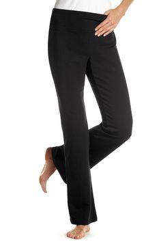 Bootcut Stretch Knit Pant: Classic Women's Clothing from #ChadwicksofBoston $24.99 - $27.99