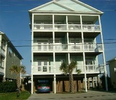 Stunning Home in Carolina Beach! 6 Large Decks - Ocean Views!   Vacation Rental in Carolina Beach from @homeaway! #vacation #rental #travel #homeaway