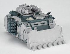 Razorback Rikarius - Front