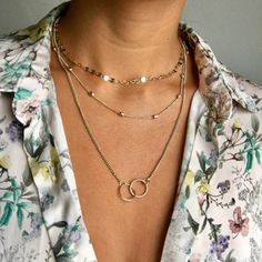 Bls-miracle Bohemian Multi layer Pendant Necklaces For Women Fashion Golden Geometric Charm Chains Necklace Jewelry Wholesale Pendant Initial Necklace Gold, Diamond Solitaire Necklace, Long Pendant Necklace, Dainty Necklace, Necklace Set, Necklace Guide, Sapphire Necklace, Bracelet Love, Infinity Necklace