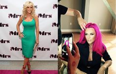 Stars love to switch up their look. From major dye jobs to cool cuts, these are the best hair makeovers of Celebrity Hairstyles, Cool Hairstyles, Jenny Mccarthy, Bodycon Dress, Celebs, Dresses, Women, Fashion, Celebrities