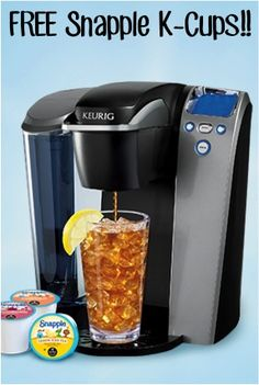 FREE Snapple K-Cups Sampler Pack!