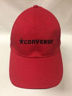 Converse All Star Chuck Taylor Red Baseball Cap Hat Cotton Strapback Nice   eBay