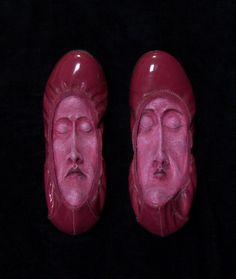 Gwen MURPHY :: Magenta Flats, from Foot Fetish Series