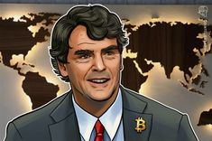"""Bitcoin Will End the Reign of 'Dictators and Toll Trolls,' Says Tim Draper - Thanks to Bitcoin, the world is no longer """"at the mercy of dictators and toll trolls,"""" says Tim Draper Source link Register at Binance [. Business And Economics, Crypto Market, Price Chart, Global Market, Bitcoin Price, Crypto Currencies, Sky High, Investors, Blockchain"""