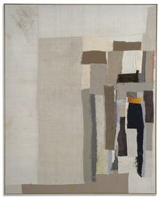 Sergej Jensen  Untitled  2006, linen, cotton, jute  247,5 × 198 cm