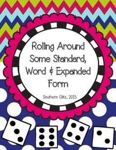 Meet Common Core Standard, 2.NBT.A.3 with these hands on activities. This packet includes four different activities that allow the students to show what they know about standard, word, and expanded form.  CCSS.MATH.CONTENT.2.NBT.A.3