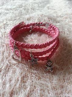 Gennt / ružový náramok pre malú princeznú