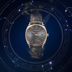 This spoil him with our iconic men's watch, Dandy, available in both automatic and manual movements. Jewelry Ads, High Jewelry, Jewelry Watches, Jewellery, Diamond Photography, Motion Images, Chaumet, Clothing Photography, Quality Diamonds