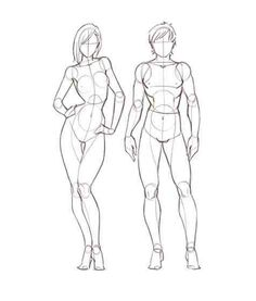 Both waists should be bigger (unless you have short ribs) but overall good for realistic cartoon style.