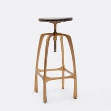 Industrial roots with a chic contemporary flair. This Made Goods stool can do no wrong. #furniture #stool #bar