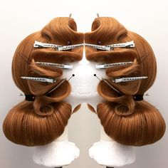 Hair by Edu von Gomes for Erika Empire.  #wig #hair #wigstyle #dragqueen
