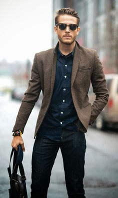 A great look for men. Without dot