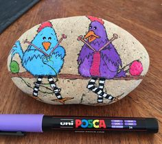 Knitting chickens