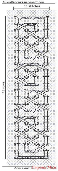 "Crochet Afghans Design ""Free crochet patterns (flowers, amigurumi, celtic motifs) designed by Suvi. Crochet Afghans, Crochet Cable, Crochet Quilt, Afghan Crochet Patterns, Crochet Stitches, Crochet Hooks, Free Crochet, Crochet Edgings, Cross Stitches"