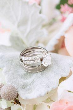 Engagement Rings 2017/ 2018 Cushion cut diamond with infinity band | Photography: Hunter Ryan Photo hunter