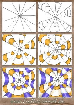op art kegler – www.FruBilledkuns… op art kegler – www. Optical Illusions For Kids, Optical Illusions Drawings, Illusion Drawings, Art Optical, Art Drawings, Illusions Mind, Optical Illusion Art, Drawing Art, Drawing Ideas