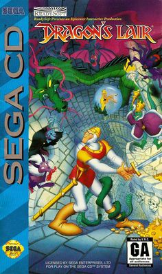 Dragon's Lair: Sega CD