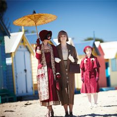 Miss Fisher's Murder Mysteries -- looking for Kitty at the beach